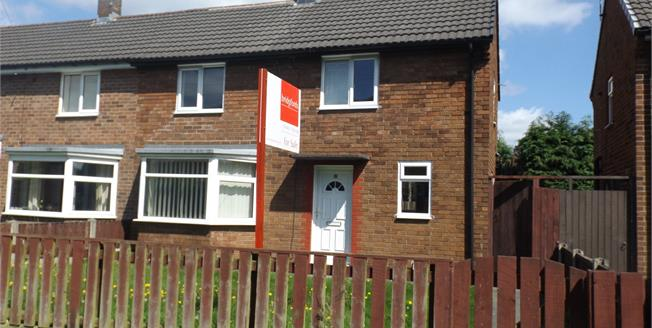 Offers Over £95,000, 2 Bedroom Semi Detached House For Sale in Golborne, WA3