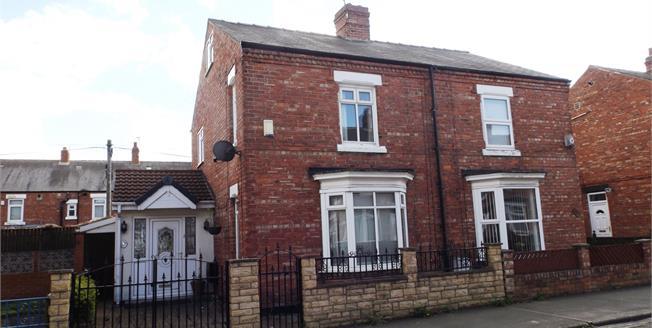 Asking Price £80,000, 2 Bedroom Semi Detached House For Sale in Darlington, DL1