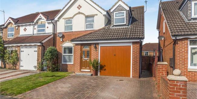Asking Price £185,000, 3 Bedroom Detached House For Sale in Middleton St. George, DL2