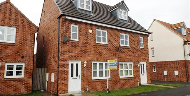 Offers Over £115,000, 3 Bedroom Semi Detached House For Sale in Darlington, DL2