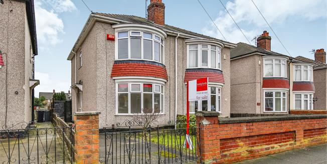 Offers Over £100,000, 2 Bedroom Semi Detached House For Sale in Darlington, DL1