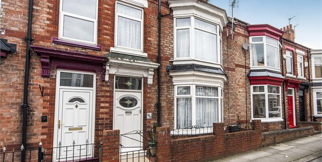 Offers Over £65,000, 3 Bedroom Terraced House For Sale in Darlington, DL1