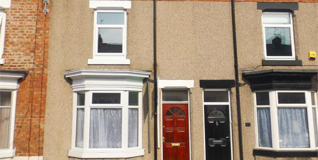 Offers in the region of £65,000, 2 Bedroom Terraced House For Sale in Darlington, DL3