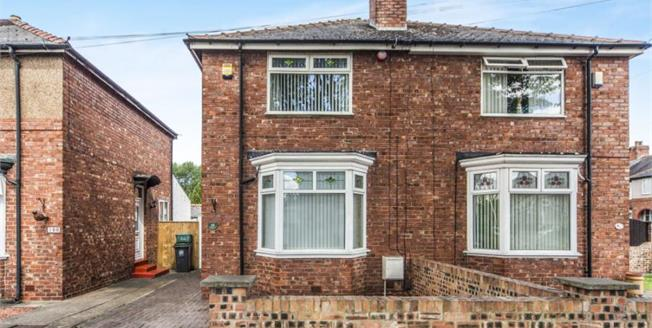 Offers Over £105,000, 2 Bedroom Semi Detached House For Sale in Darlington, DL3