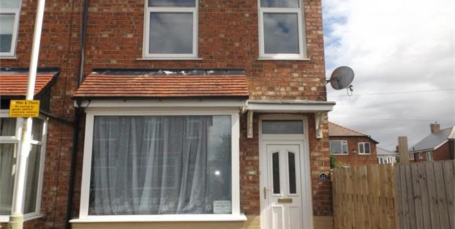 Asking Price £52,000, 2 Bedroom End of Terrace House For Sale in Darlington, DL1