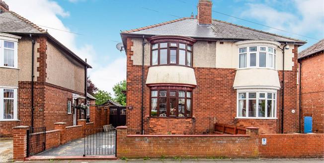 Offers Over £100,000, 2 Bedroom Semi Detached House For Sale in Darlington, DL1