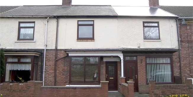 Offers Over £70,000, 2 Bedroom Terraced House For Sale in Wingate, TS28