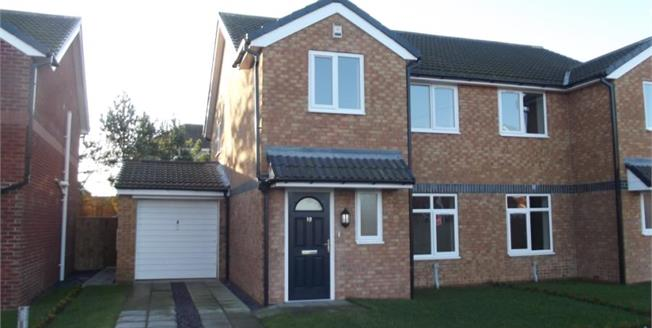 £129,950, 3 Bedroom Semi Detached House For Sale in Durham, DH6