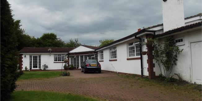 Guide Price £425,000, 3 Bedroom Detached Bungalow For Sale in Houghton Le Spring, DH5