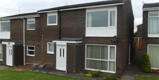 Guide Price £60,000, 2 Bedroom Upper Floor Flat For Sale in Witton Gilbert, DH7