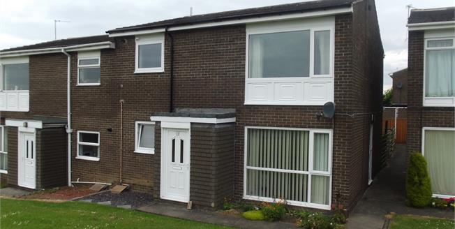 Guide Price £60,000, 2 Bedroom Flat For Sale in Witton Gilbert, DH7