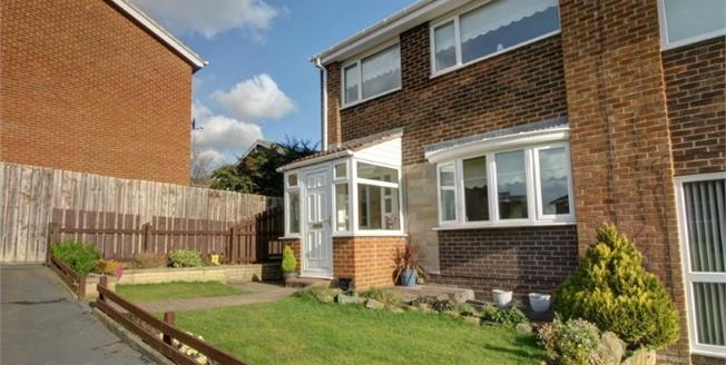 Asking Price £98,000, 3 Bedroom House For Sale in Ushaw Moor, DH7