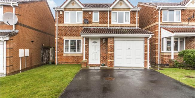 Asking Price £185,000, 4 Bedroom Detached House For Sale in Sherburn Village, DH6