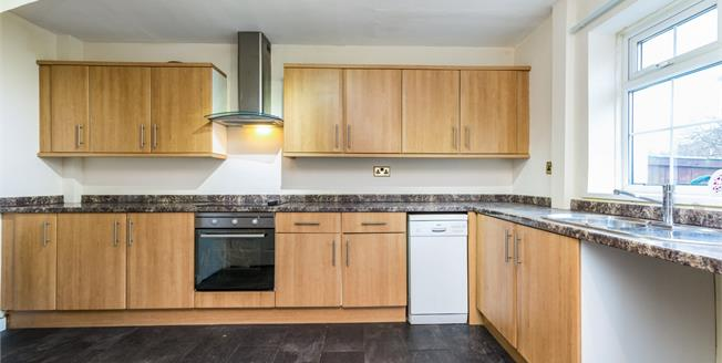 Offers Over £70,000, 2 Bedroom Semi Detached House For Sale in Crook, DL15