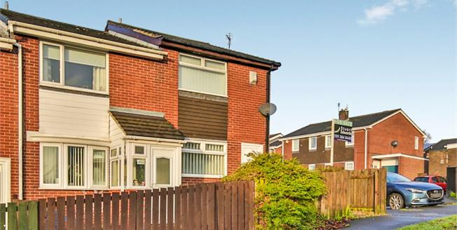 Offers in the region of £76,000, 2 Bedroom Terraced House For Sale in Witton Gilbert, DH7
