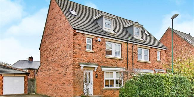Offers in the region of £175,000, 4 Bedroom Semi Detached House For Sale in Durham, DH1