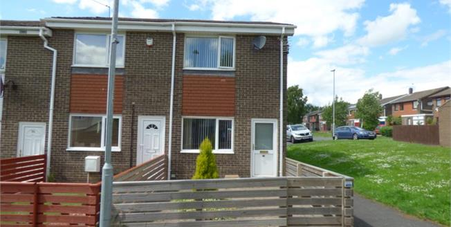Offers in the region of £75,000, 2 Bedroom End of Terrace House For Sale in Witton Gilbert, DH7