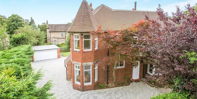 Guide Price £925,000, 5 Bedroom Detached House For Sale in Harrogate, HG2