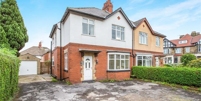 Guide Price £300,000, 4 Bedroom Semi Detached House For Sale in Harrogate, HG1