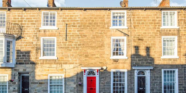 Offers Over £230,000, 2 Bedroom Terraced House For Sale in Knaresborough, HG5