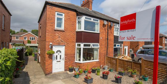 Offers Over £210,000, 3 Bedroom Semi Detached House For Sale in Knaresborough, HG5