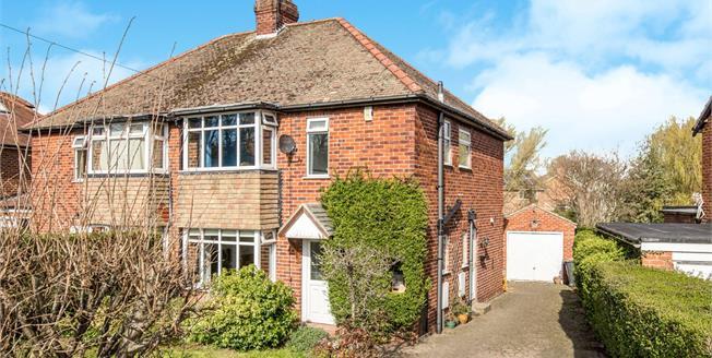 Offers Over £300,000, 3 Bedroom Semi Detached House For Sale in Knaresborough, HG5