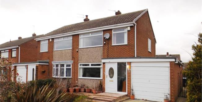 Guide Price £149,995, 3 Bedroom Semi Detached House For Sale in Marton-in-Cleveland, TS7