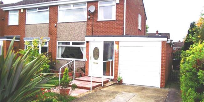 Guide Price £150,000, 3 Bedroom Semi Detached House For Sale in Marton-in-Cleveland, TS7