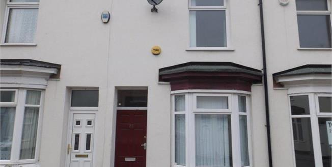 Offers Over £45,000, 2 Bedroom Terraced House For Sale in Middlesbrough, TS1