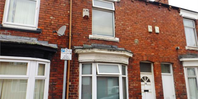 Offers Over £60,000, 2 Bedroom Terraced House For Sale in Middlesbrough, TS1