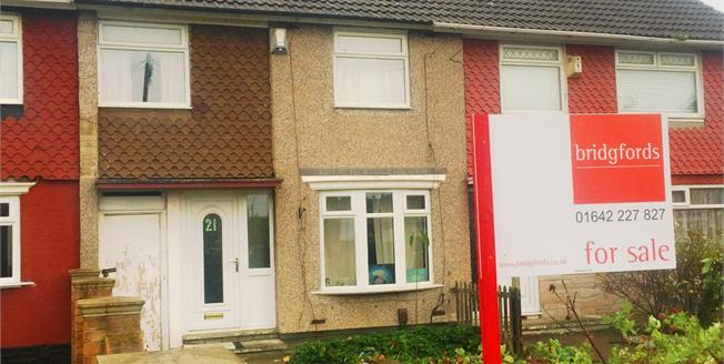 Asking Price £60,000, 3 Bedroom Terraced House For Sale in Middlesbrough, TS3