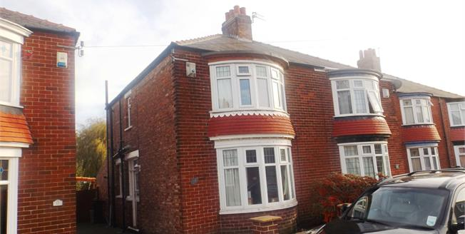 Offers in the region of £120,000, 3 Bedroom Semi Detached House For Sale in Middlesbrough, TS5
