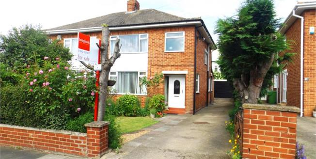 Offers Over £170,000, 3 Bedroom Semi Detached House For Sale in Middlesbrough, TS5
