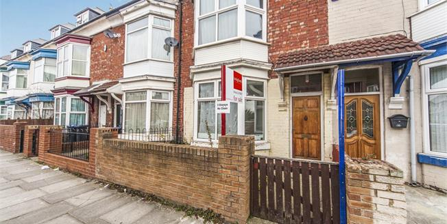 Offers in the region of £110,000, 4 Bedroom Terraced House For Sale in Middlesbrough, TS5