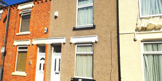 Offers in excess of £60,000, 2 Bedroom Terraced House For Sale in Middlesbrough, TS1
