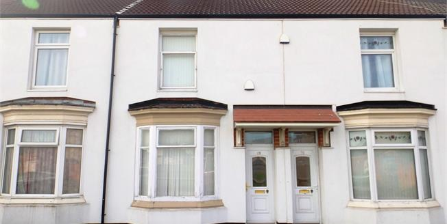 Offers Over £59,000, 3 Bedroom Terraced House For Sale in Middlesbrough, TS1