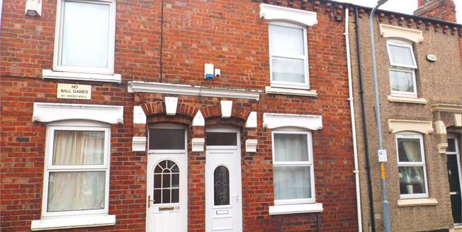 Offers Over £47,000, 2 Bedroom Terraced House For Sale in Middlesbrough, TS1