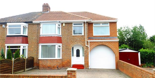 Asking Price £190,000, 4 Bedroom Semi Detached House For Sale in Middlesbrough, TS5