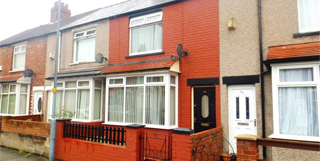 Asking Price £60,000, 2 Bedroom Terraced House For Sale in Middlesbrough, TS4