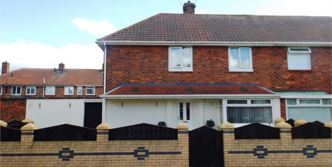 Offers Over £80,000, 3 Bedroom Semi Detached House For Sale in Middlesbrough, TS4