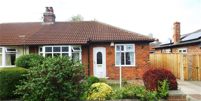 Asking Price £150,000, 3 Bedroom Semi Detached Bungalow For Sale in Middlesbrough, TS5