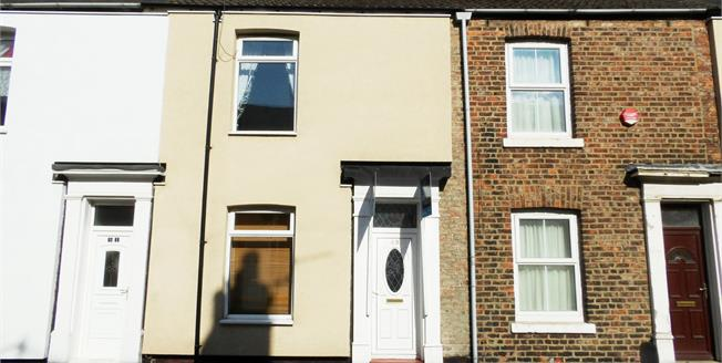 Offers in the region of £55,000, 2 Bedroom Terraced House For Sale in Stockton-on-Tees, TS18