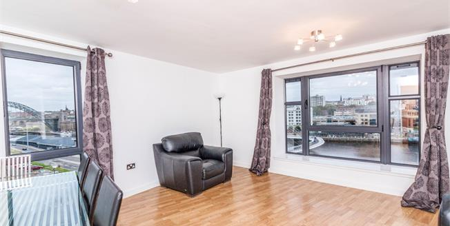 £240,000, 2 Bedroom Flat For Sale in Gateshead, NE8