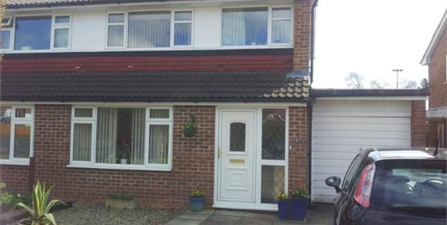 Guide Price £182,500, 3 Bedroom Semi Detached House For Sale in Brompton, DL6