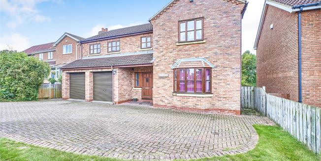 Guide Price £425,000, 5 Bedroom Detached House For Sale in East Cowton, DL7