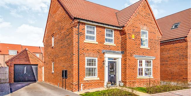 Guide Price £350,000, 4 Bedroom Detached House For Sale in Northallerton, DL7