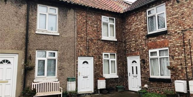 Asking Price £85,000, 1 Bedroom Terraced House For Sale in Brompton, DL6