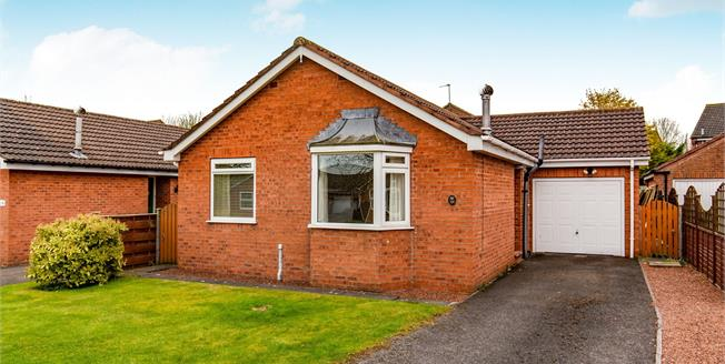 Guide Price £230,000, 2 Bedroom Detached Bungalow For Sale in Northallerton, DL6