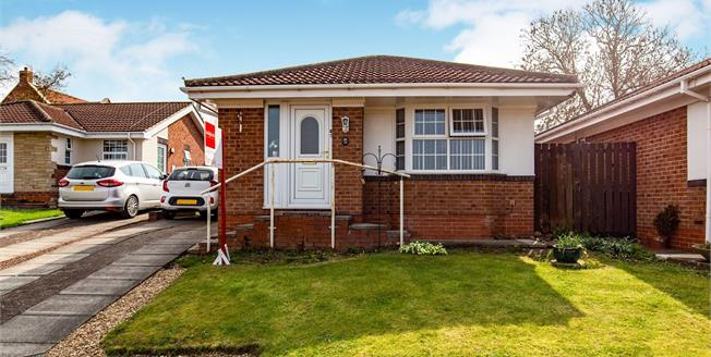 Offers in the region of £125,000, 2 Bedroom Detached Bungalow For Sale in Brompton, DL6