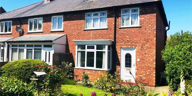 Guide Price £170,000, 3 Bedroom Semi Detached House For Sale in Northallerton, DL6